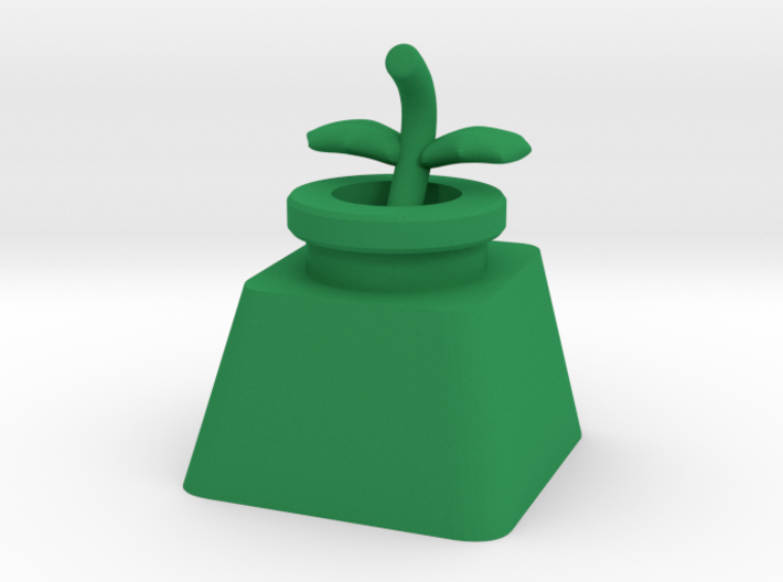Piranha Plant Body Cherry MX Keycap 3d printed