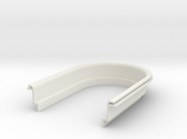 Air filter half 3d printed