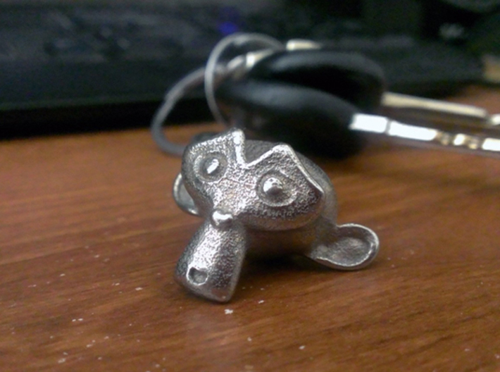 Suzanne Key Chain 3d printed