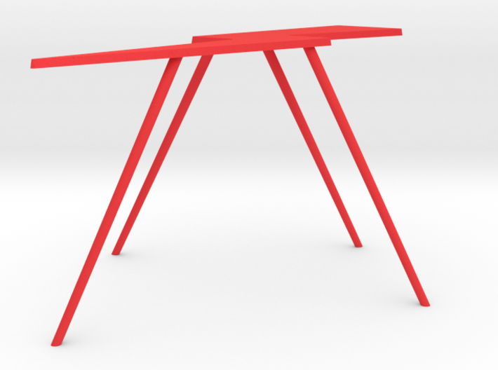 Personalize-able Lightning Bolt Flip Table Medium 3d printed