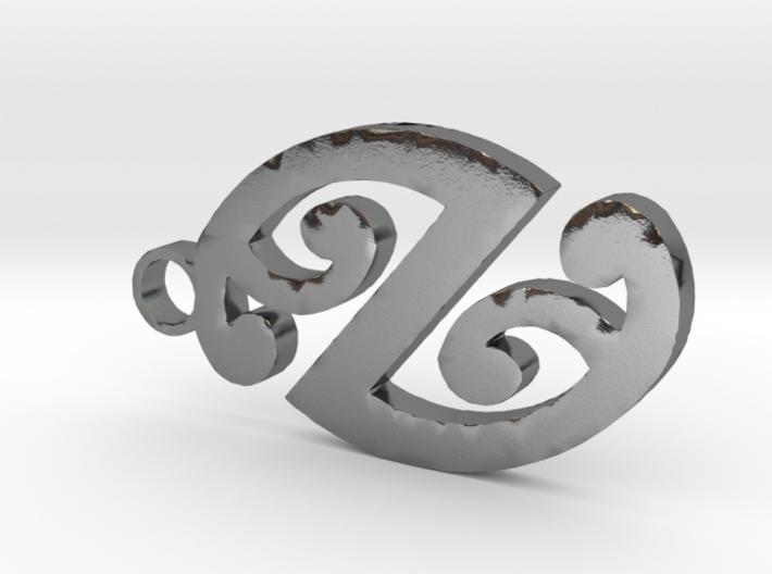Koru pendant  3d printed