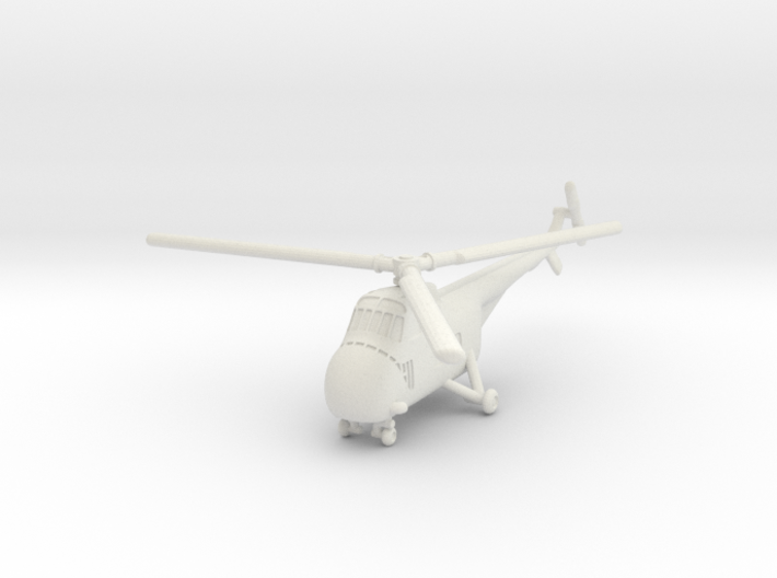 Sikorsky H-19 Chickasaw (S-55) 1/285 6mm 3d printed