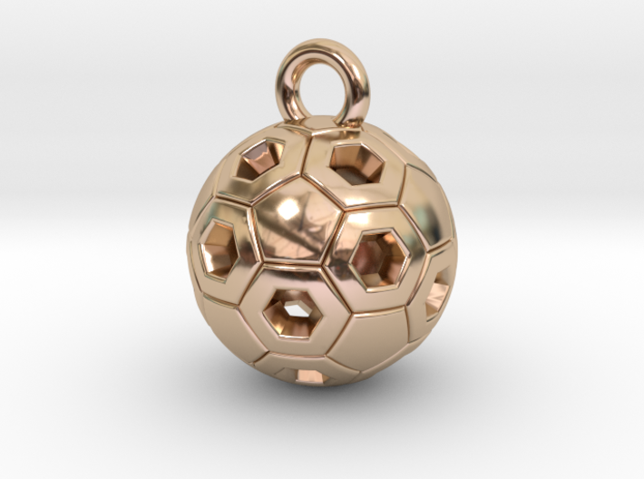 SOCCER BALL B 3d printed