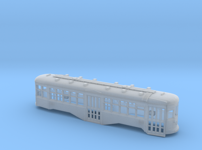 HO B&QT 8000-series Peter Witt Body w/Roofwalk 3d printed