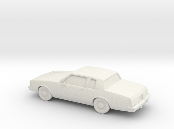 1/87 1980-85 Oldsmobile Delta 88 Coupe 3d printed