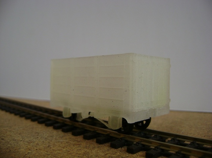 FR Wagon No. 118 5.5mm Scale 3d printed