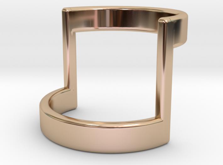 Minimal Half Bar Band 3d printed