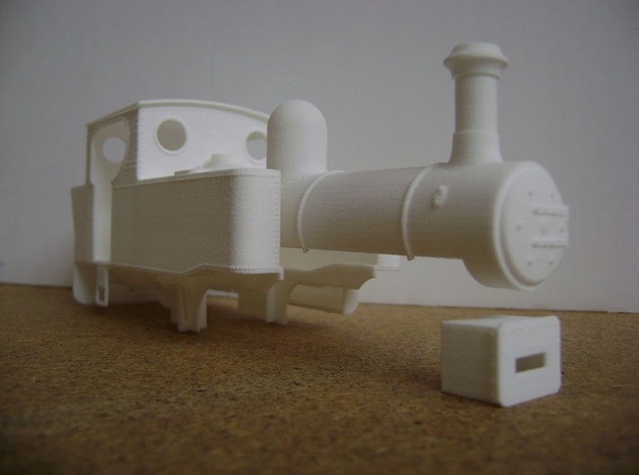 NWNGR Gowrie 7mm Scale 3d printed