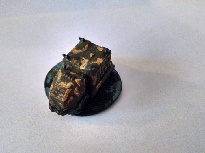 Troop Truck 6mm 3d printed Painted and based.