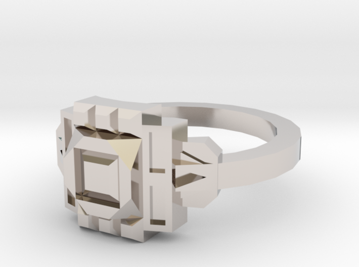 Deco Ring 3d printed