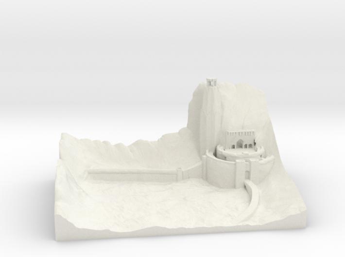 Helms deep 3d printed