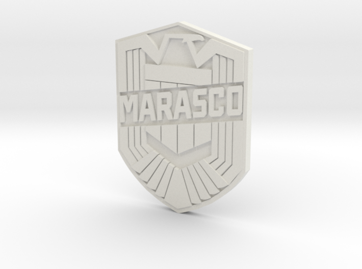 Marasco Dredd (custom) 3d printed