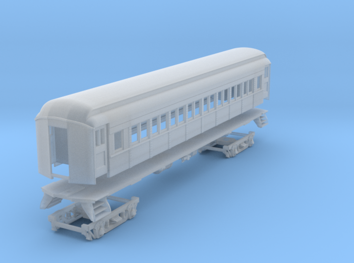 PRR P70 (shortened)(1/160) 3d printed