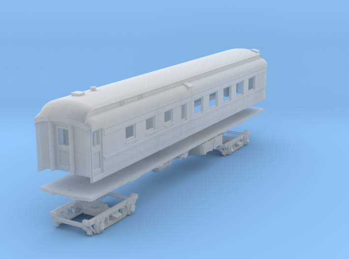 PRR D78AR (shortened)(1/160) 3d printed