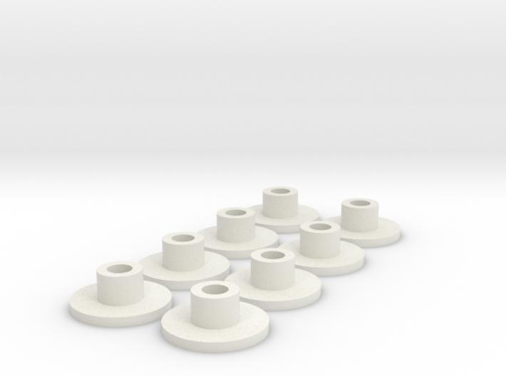 Anti-jello-inserts 3d printed