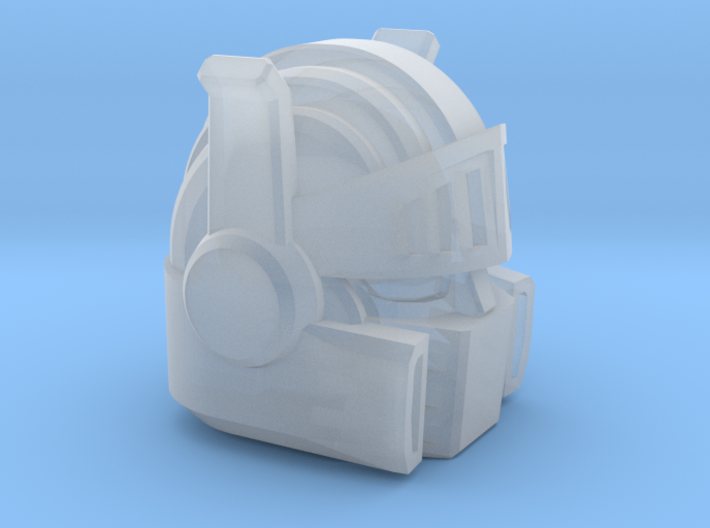 Chic-Capitan Head 3d printed