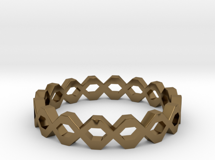 Knot Ring Size 5 3d printed