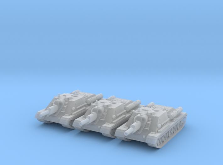 1/220 SU-122 SPG (3) 3d printed