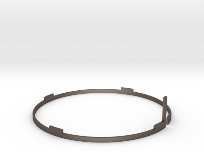 Distance ring to scale WWII Instument 78mm 3d printed