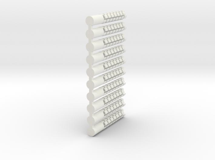 Crown Enhancer v.4 Round Shank (10pk)  3d printed