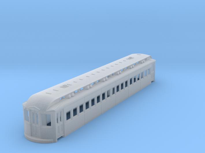 HO Scale L&WV Coach-Short HO 3d printed