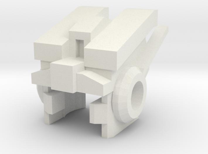 Robohelmet: Jungian-bot 3d printed