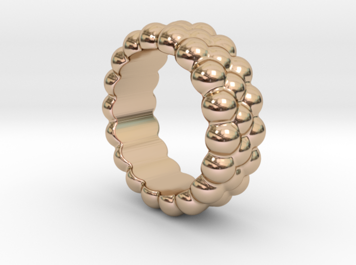 RING BUBBLES 14 - ITALIAN SIZE 14 3d printed