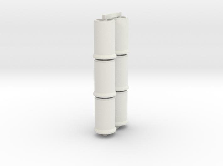 SET 6 Betonrohre (N 1:160) 3d printed