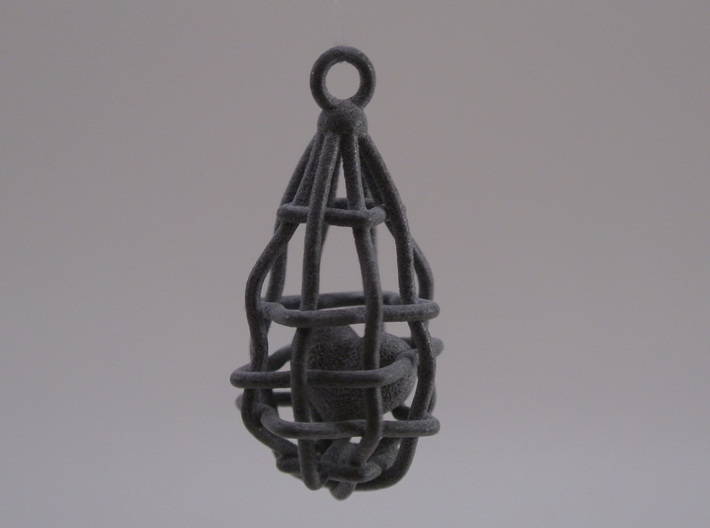My Safety Net Heart - Pendant 3d printed