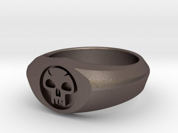 MTG Swamp Mana Ring (Size 8) 3d printed