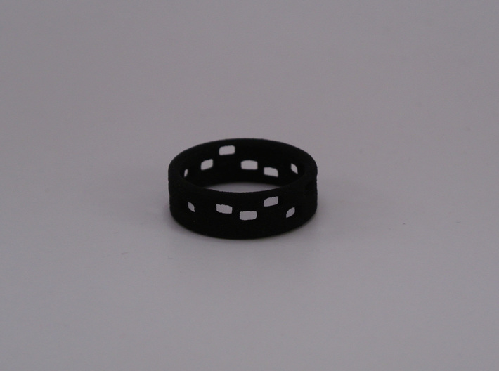 The Dots - Ring - size54 - diam17,2mm 3d printed