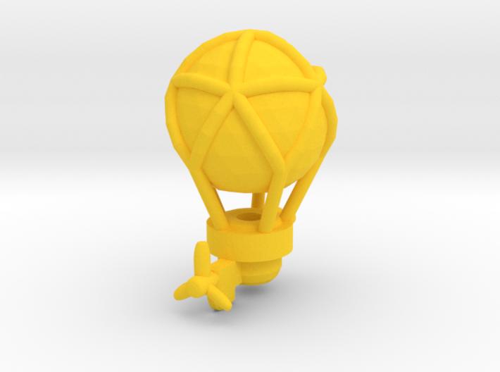 Gun-balloon | Steampunk Airship Miniature 3d printed