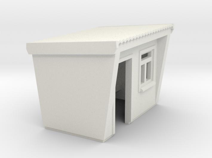 Beton-Wartehäuschen (N 1:160) 3d printed