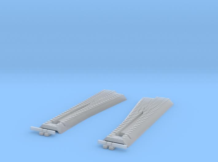 LH + RH B6 Straight Point - T - 1:450 3d printed