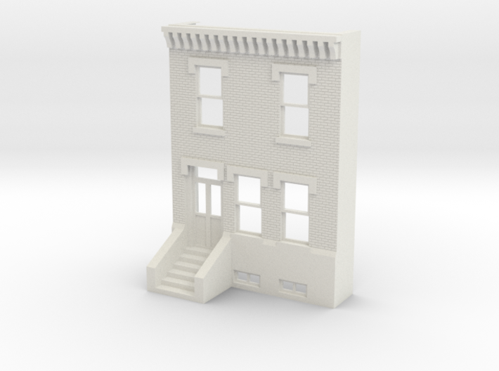 PHILLY ROW HOME 2 STORY FRONT 1/35 REV 3d printed