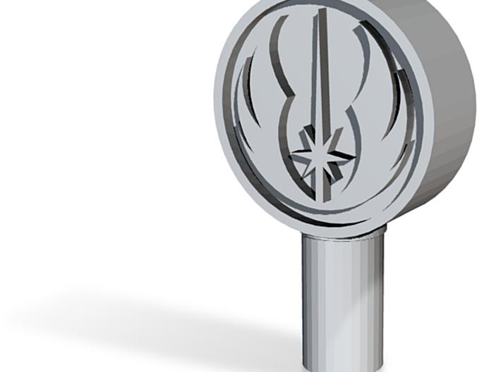 Jedi Logo Kill-Key Standard Senkrecht 3d printed