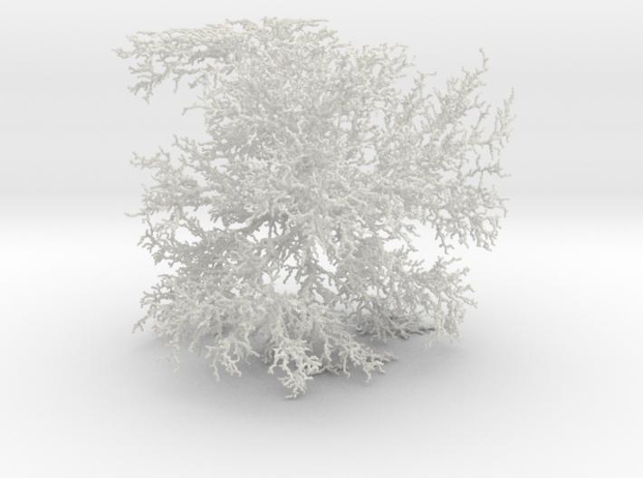 Cubic Dendrite, 2/50 3d printed