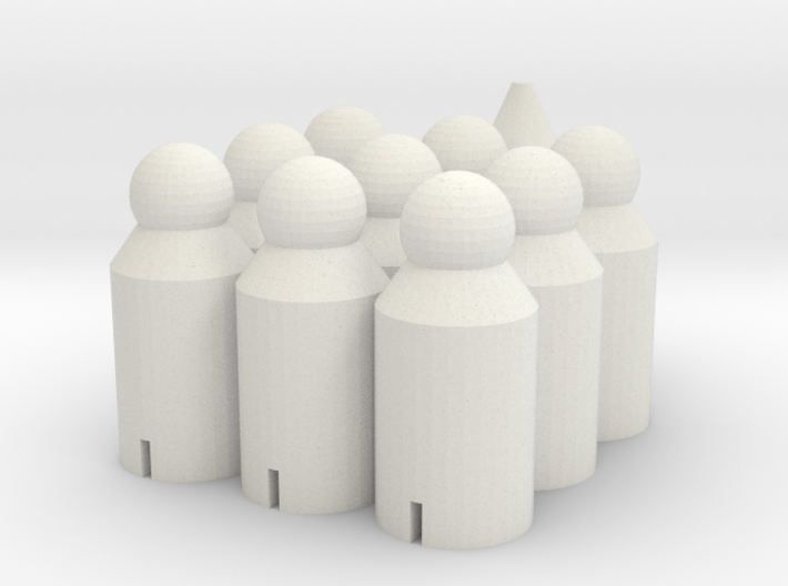 Segmentacle 3d printed