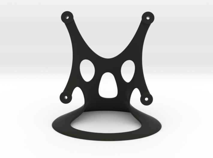 Fan Stand, 80mm, Designed by Hein 3d printed