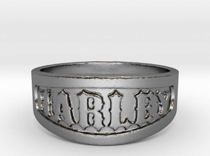 Harley Ring Size 14 3d printed