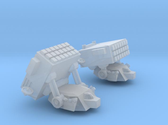 Minotaur Missile Turrets 3d printed