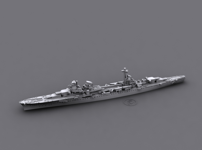 1/1800 IT CL Muzio Attendolo[1941] (Condottieri3) 3d printed Computer software render