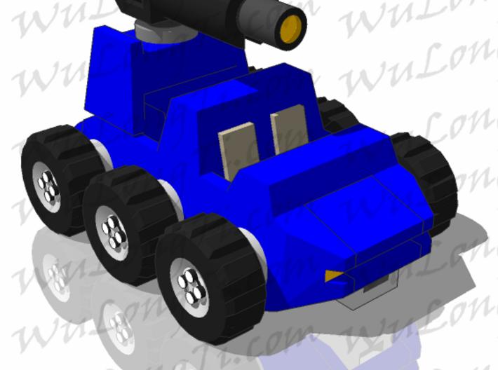 Target Master Roller 3d printed vehicle mode