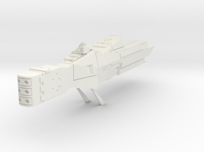 LoGH Alliance Destroyer 1:2000 3d printed
