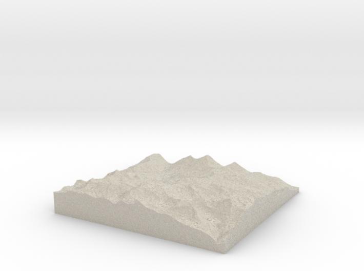 Model of Schafniese 3d printed