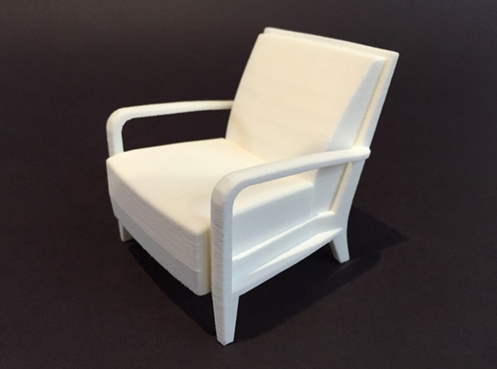 Serengeti Lounge Chair 1:12 scale 3d printed