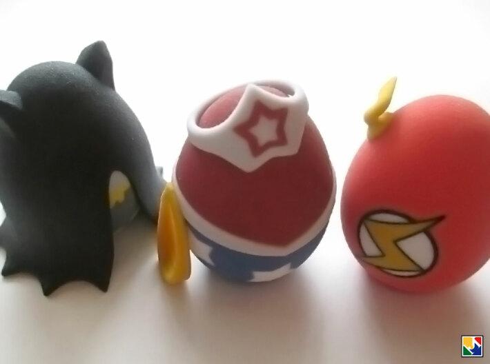 Bat Egglet 3d printed