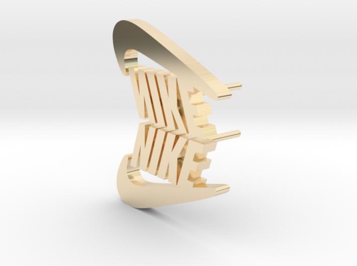 Nike ekiN 3d printed Nike logo earrings