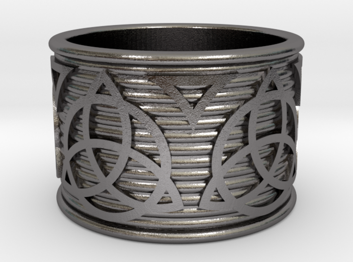 Celtic Ring size 14 3d printed