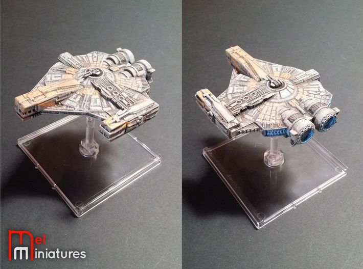 XS Light Freighter (Small) 3d printed